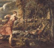 Titian The Death of Actaeon oil painting picture wholesale
