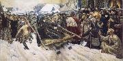 Vasily Surikov Boyarina Morozova oil painting picture wholesale