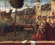 Vittore Carpaccio The Departure of Ceyx oil painting artist