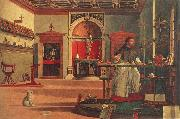 Vittore Carpaccio St.Augustine in his study oil painting picture wholesale