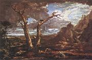 Washington Allston Elijah in the Desert oil painting picture wholesale