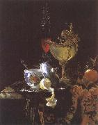 Willem Kalf Still life with Chinese Porcelain Jar oil painting picture wholesale