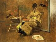 William Merrit Chase Der Kimono oil painting picture wholesale