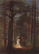 Winslow Homer Der Park von Waverly Oaks oil painting artist