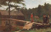 Winslow Homer Die Morgenglocke oil painting artist