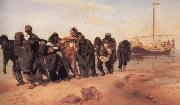 llya Yefimovich Repin Barge Haulers on the Volga oil painting picture wholesale
