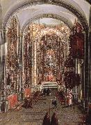 unknow artist This painting Allows us to picture the interior of a church in new spain oil painting picture wholesale