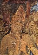 unknow artist Large bodhisattva, cave i Ajanta oil painting picture wholesale