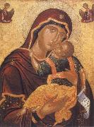 unknow artist The Virgin with child or virgin glykophilousa oil painting picture wholesale
