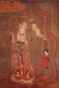 unknow artist Guanyin as-guide of the souls, from Dunhuna oil painting picture wholesale