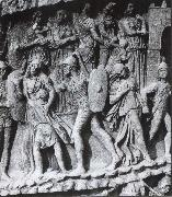 unknow artist Caught Women and Children, relief at the Pillar of Marcus Aurelius. Rome oil painting picture wholesale