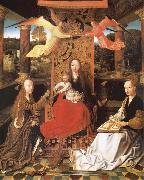 unknow artist The Madonna and the Nino enthroned, with the holy Catalina and Barbara oil painting picture wholesale