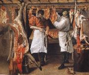Annibale Carracci the butcher store oil painting picture wholesale