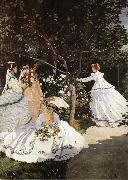 Claude Monet Women in the Garden oil painting picture wholesale