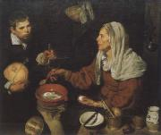 Diego Velazquez Old woman in the eggs roast oil painting picture wholesale
