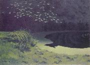 Felix Vallotton The Pond oil painting picture wholesale