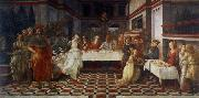 Fra Filippo Lippi scenes out of life Johannes of the Taufer the guest meal of the here ode oil painting picture wholesale