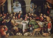 Francesco Bassano the younger The communion oil painting