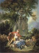 Francois Boucher Think of the grapes oil painting picture wholesale