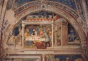 GIOVANNI DA MILANO Scenes out of life Christs  Christ in the house Simons, 2 Halfte 14 centuries. oil painting picture wholesale