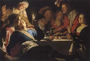 Gerrit van Honthorst Frobliche company oil painting picture wholesale