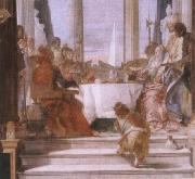 Giambattista Tiepolo The banquet of the Klleopatra oil painting picture wholesale
