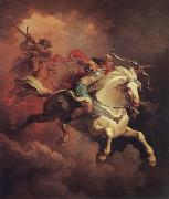 Philippe Jacques Vision of the White Horse oil painting picture wholesale