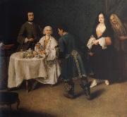Pietro Longhi The visit in the lord oil painting picture wholesale