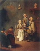 Pietro Longhi the school of the work oil painting picture wholesale