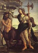 Sandro Botticelli Minerva and the Kentaur oil painting picture wholesale