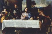 TIZIANO Vecellio The meal in Emmaus oil painting picture wholesale
