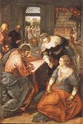 Tintoretto Christ in Maria and Marta oil painting picture wholesale