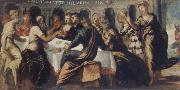 Tintoretto The festival of the Belschazzar oil painting picture wholesale