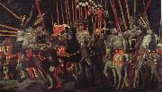 UCCELLO, Paolo The battle of San Romano the intervention of Micheletto there Cotignola oil painting picture wholesale