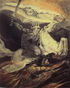 William Blake Death on a Pale Horse oil painting picture wholesale