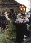 Anders Zorn Gaslisa oil painting picture wholesale