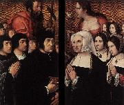 Barend van Orley Haneton Triptych oil painting picture wholesale