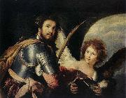 Bernardo Strozzi St Maurice and the Angel oil painting picture wholesale