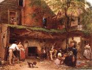 Eastman Johnson Negro life at the South oil painting picture wholesale