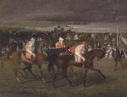 Edgar Degas At the races The Start oil painting picture wholesale