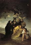 Francisco Goya The Spell oil painting picture wholesale
