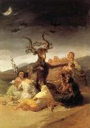 Francisco Goya Witches Sabbath oil painting picture wholesale