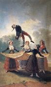 Francisco Goya Straw Mannequin oil painting picture wholesale