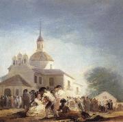 Francisco Goya The Hermitage of St Isidore oil painting picture wholesale