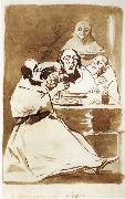 Francisco Goya Caricatura alegre oil painting picture wholesale