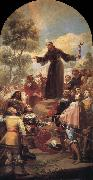 Francisco Goya St Bernardine of Siena preaching before Alfonso of Aragon oil painting picture wholesale