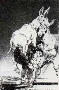 Francisco Goya Tu que no puedes oil painting picture wholesale