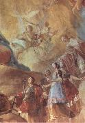 Francisco Goya Detail of Mary Queen of Martyrs oil painting picture wholesale