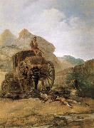 Francisco Goya Assault on a Coach oil painting picture wholesale