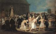 Francisco Goya The Procession oil painting picture wholesale